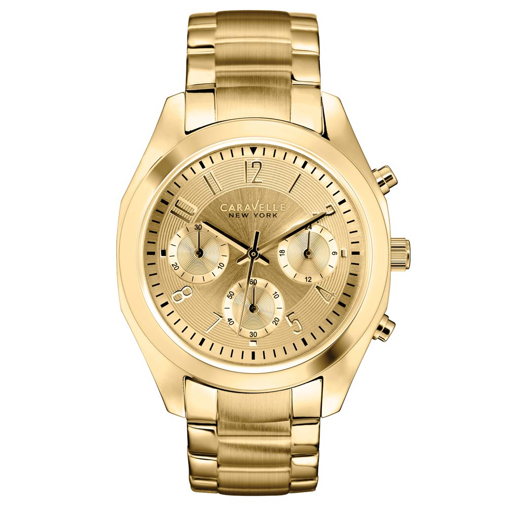 caravelle ny caravelle chronograph 44l118