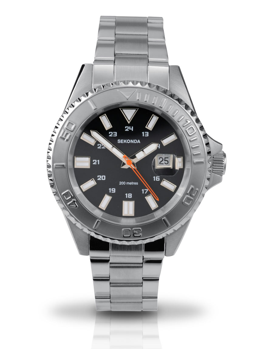 Sekonda gents bracelet watch 3276 from timewatchshop free delivery in the uk for Sekonda watches