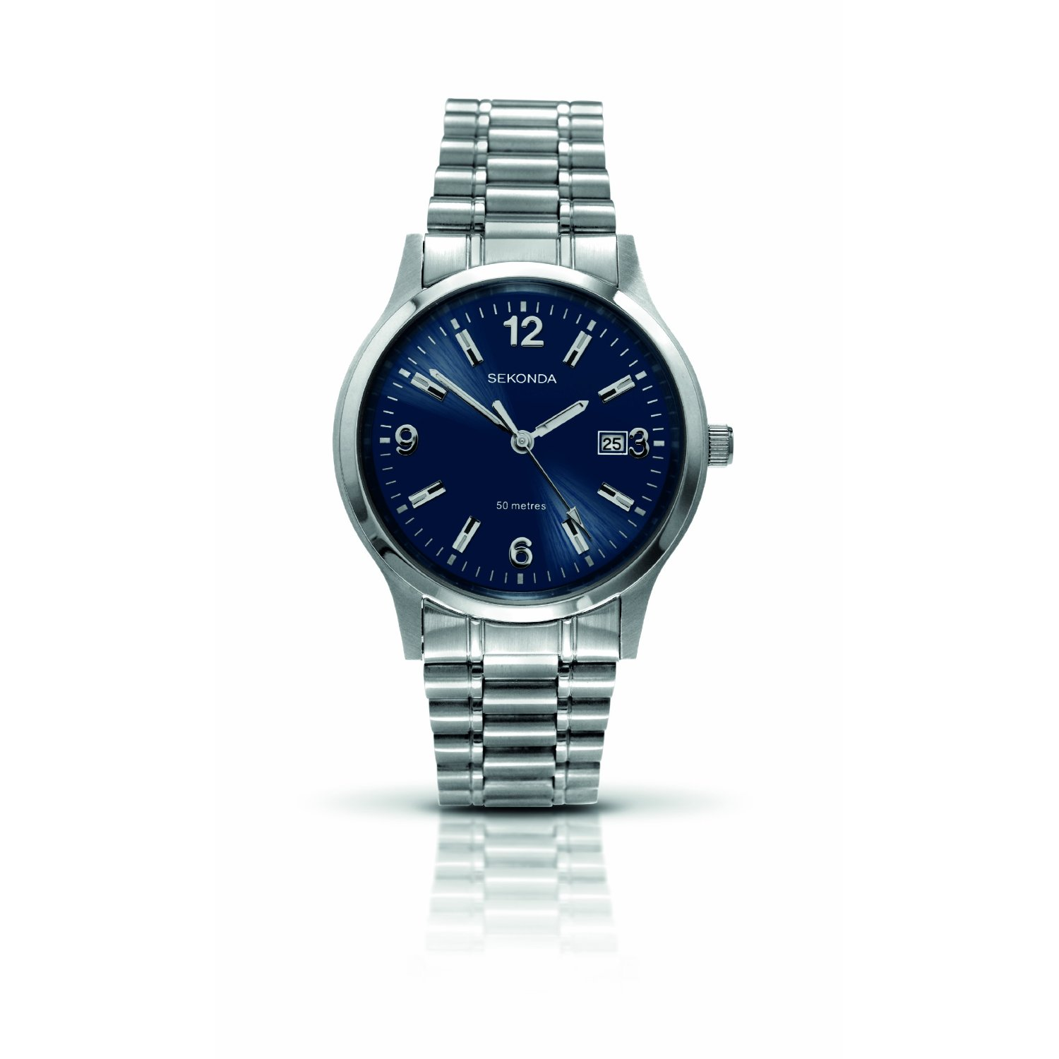 Sekonda gents bracelet watch from timewatchshop free delivery in the uk for Sekonda watches