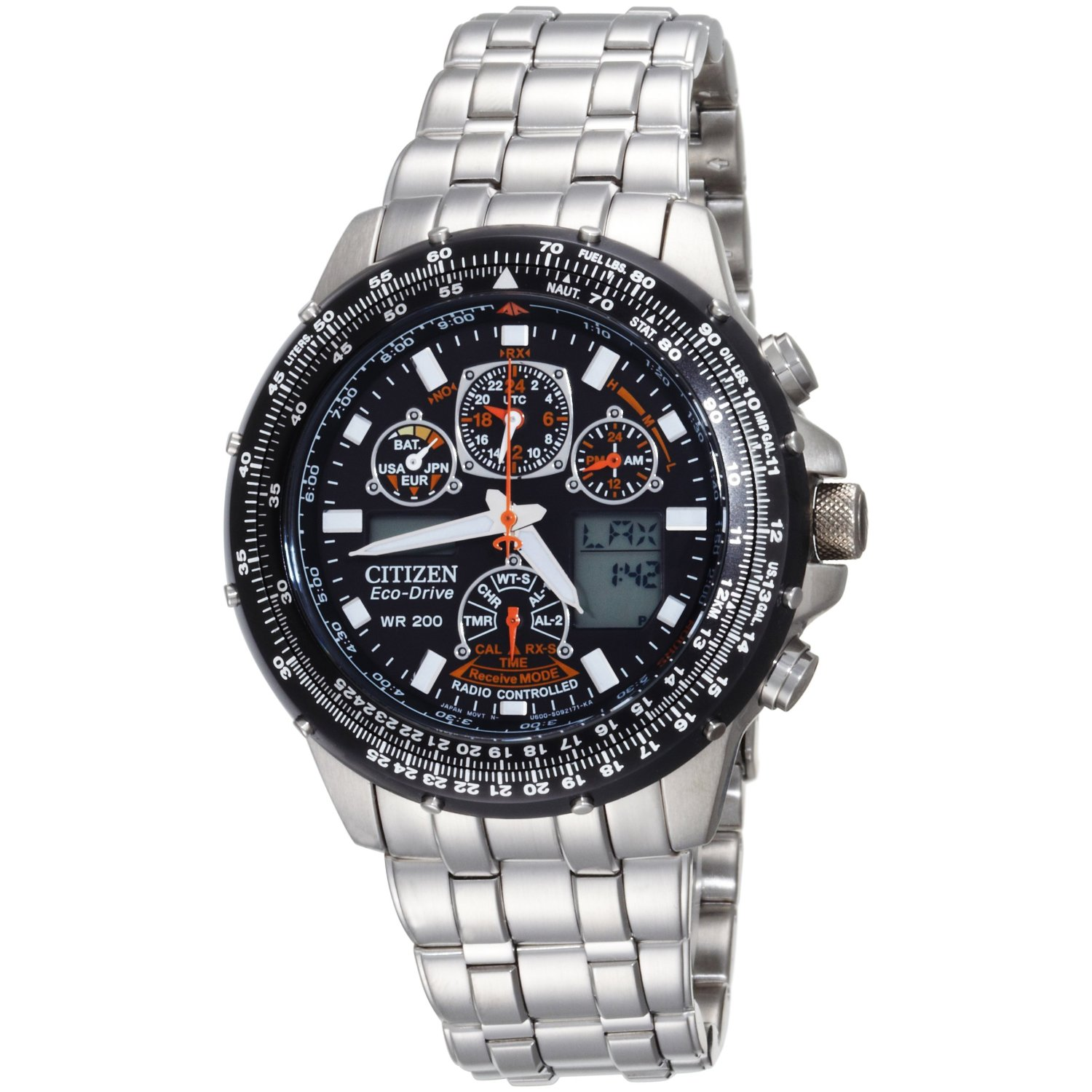 citizen eco drive skyhawk watch manual