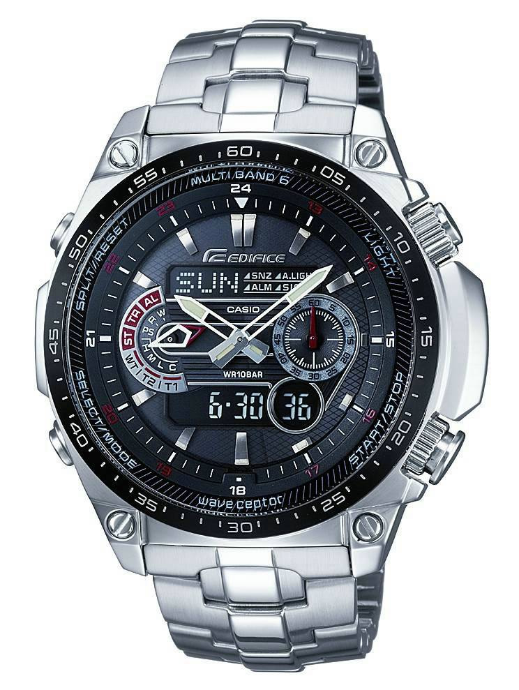 Casio Wave Ceptor Edifice Watch Ecw-m300edb-1aer -  U00a3233 75 From Timewatchshop