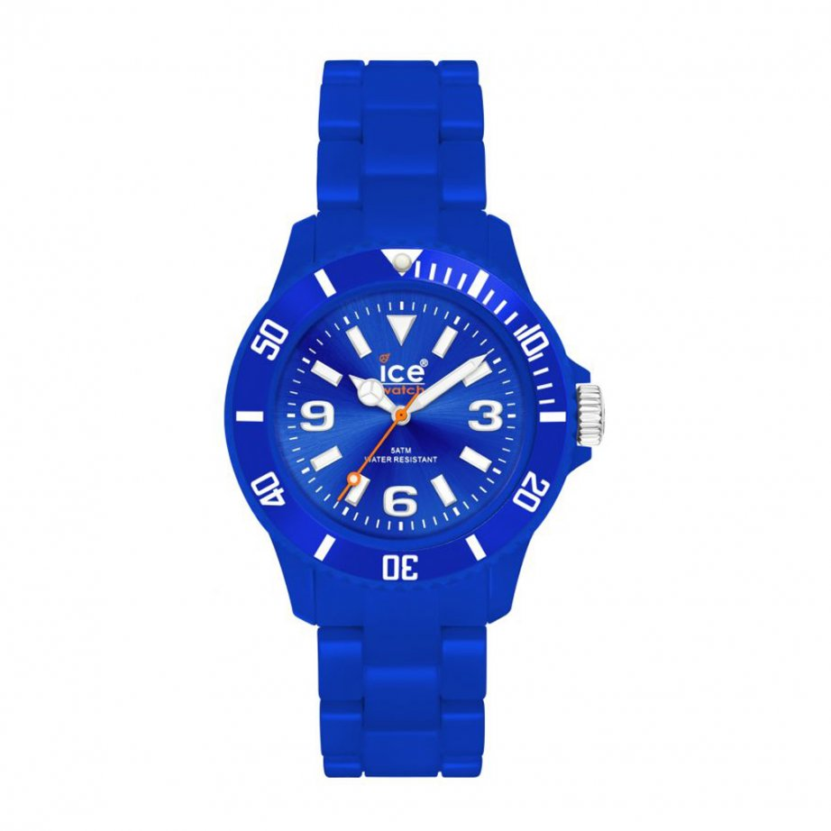 ice-watch classic blue plastic unisex cs be u p