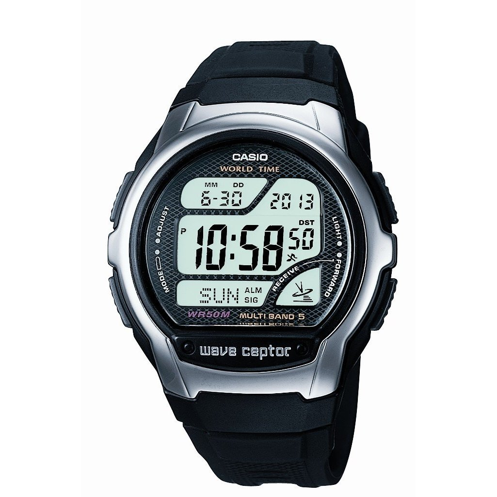 Casio Wave Ceptor Watch Wv-58u-1avef -  U00a339 00 From Timewatchshop
