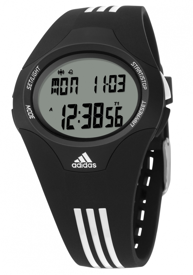 how to set time on adidas digital watch