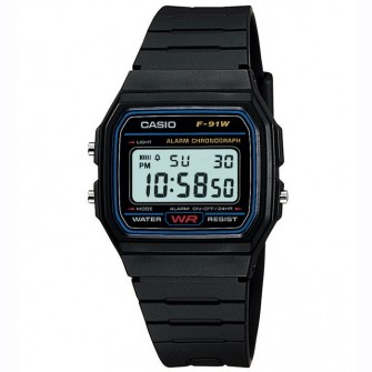 Casio Gents Digital Watch F-91W-1XY