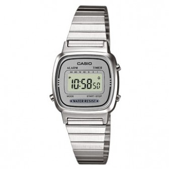 Casio Casio Ladies Digital Watch LA670WEA-7EF