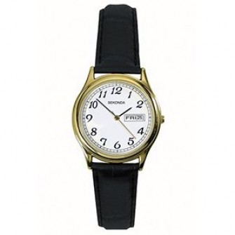 Sekonda Ladies Leather Strap Watch 4925
