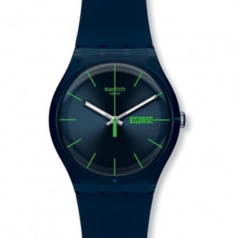 Swatch Blue Rebel Watch SUON700