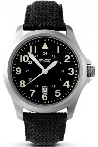 Sekonda Gents Fabric Strap Watch 3347