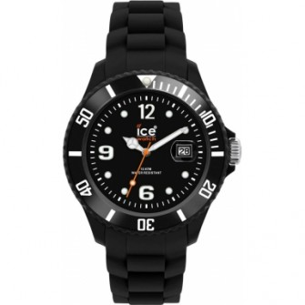 Ice-Watch Black Silicone Big Big SI.BK.BB.S