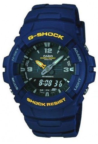 Casio G-SHOCK Watch G-100-2BVMUR