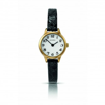 Sekonda Ladies Leather Strap Watch 4473