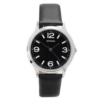 Sekonda Gents Leather Strap Watch 3285