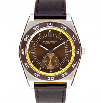 Gents Leather Strap Watch KC1444