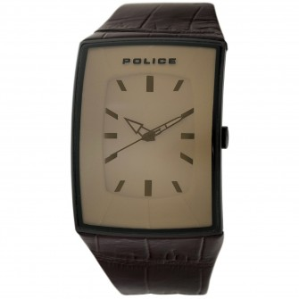 Police Gents Vantage Leather Strap Watch 12172JSB/12