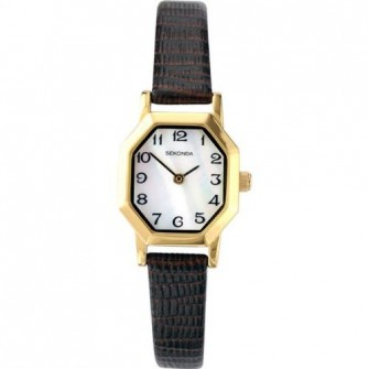 Sekonda Ladies Leather Strap Watch 4416