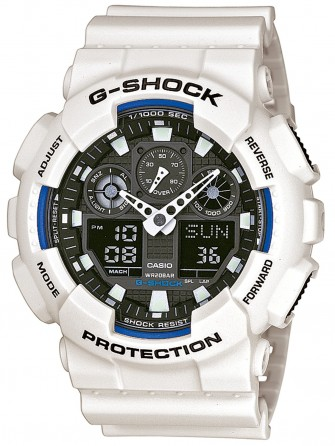 Casio Gents G-Shock Watch GA-100B-7AER