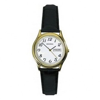 Sekonda Ladies Leather Strap Watch 4194