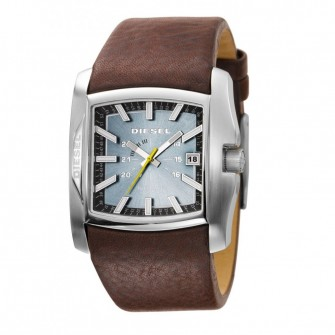 Diesel Gents Leather Strap Watch DZ1317