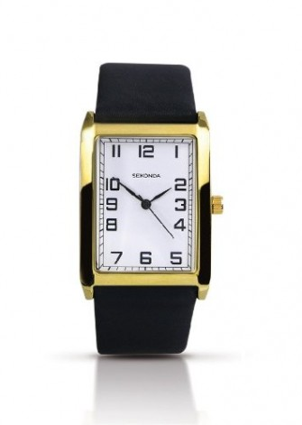 Sekonda Gents Leather Strap Watch 3139
