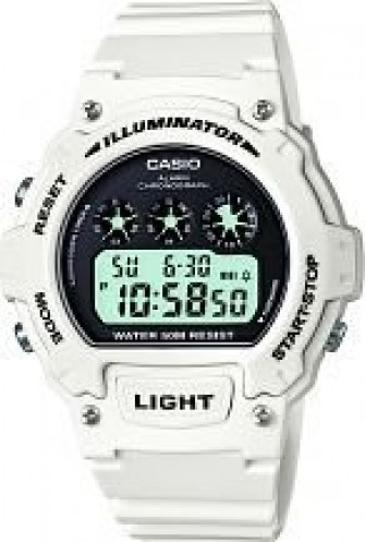 Casio Gents Digital Watch W-214HC-7AVEF
