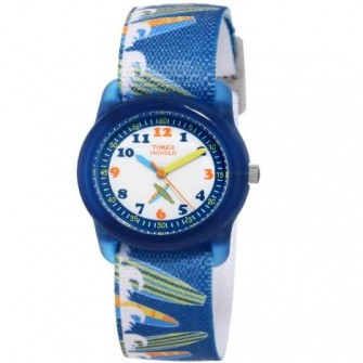Timex Kids Time Teacher Surfer Strap Watch T7B888