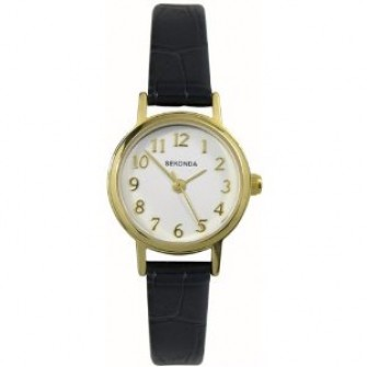 Sekonda Ladies Leather Strap Watch 4971