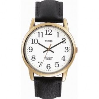 Timex Gents Leather Strap Watch T20491