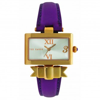Ladies Leather Strap Watch TE2080