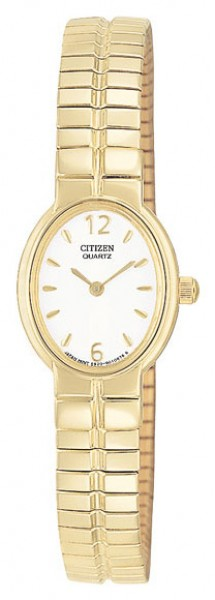 Citizen Ladies Expansion Gold Plated Bracelet Watch EK5452-96A