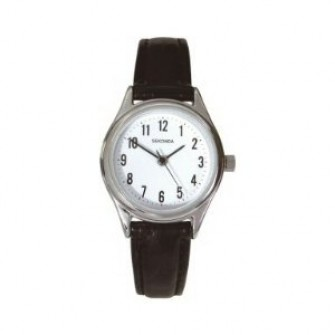 Sekonda Ladies Leather Strap Watch 4491