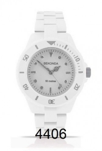 Sekonda Ladies Icy White Bracelet Watch 4406