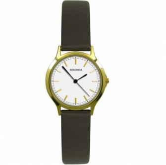 Sekonda Ladies Leather Strap Watch 4136