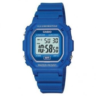 Casio Digital Illuminator Watch  F-108WH-2AEF