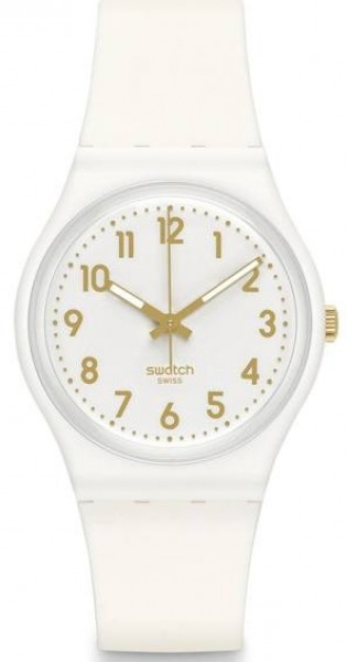 Swatch White Bishop Watch GW164