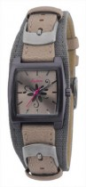 Kahuna Ladies Canvas and Leather Strap Watch
