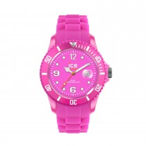 Ice-Watch Pink Silicone Small with Pink Dial