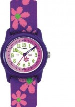 Timex Kids Time Teacher Purple Flower