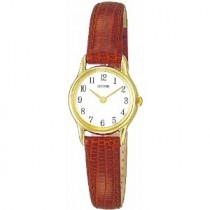 Citizen Ladies Leather Strap Watch