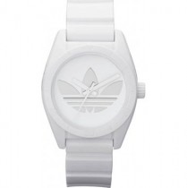Adidas Ladies Mini Santiago White Watch