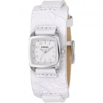 Fossil Ladies Leather Strap Watch