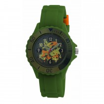 Tikkers Green Cammoflage Watch