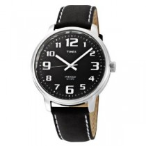 Timex Gents Leather Strap Watch