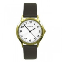 Sekonda Gents Leatherette Strap Watch