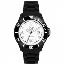 Ice-Watch Black Silicone Big with white dial