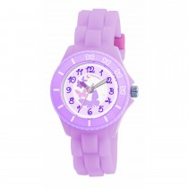 Tikkers Lilac Butterflies Watch