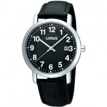 Lorus Gents Leather Strap Watch