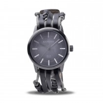 Kahuna Gents Leather Multi Strap Watch