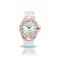 Seksy Ladies Leather Strap Watch