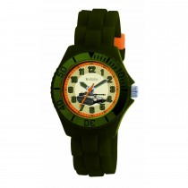 Tikkers Green Army Tank Watch